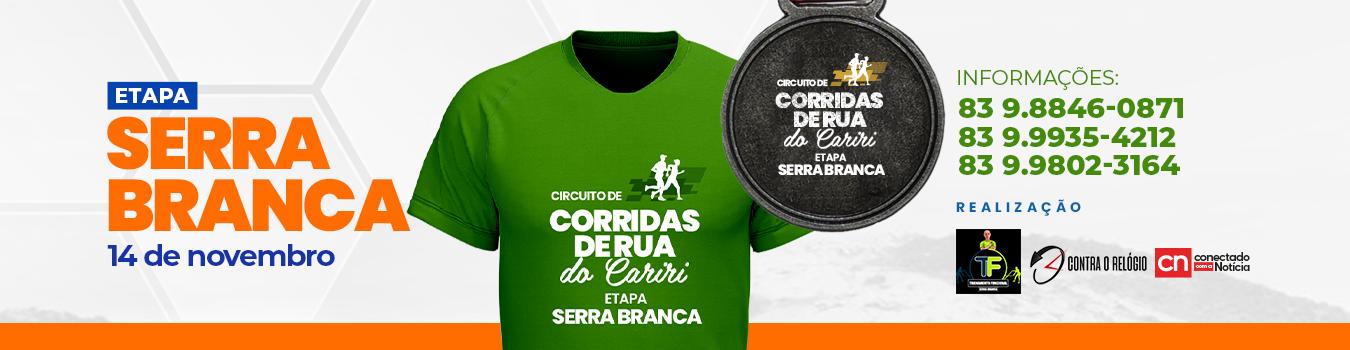 Circuito Corridas De Rua Do Cariri - Serra Branca